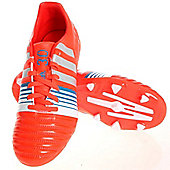 adidas Nitrocharge 3.0 TRX FG Jr Youth Football Boots Red-Silver - Red