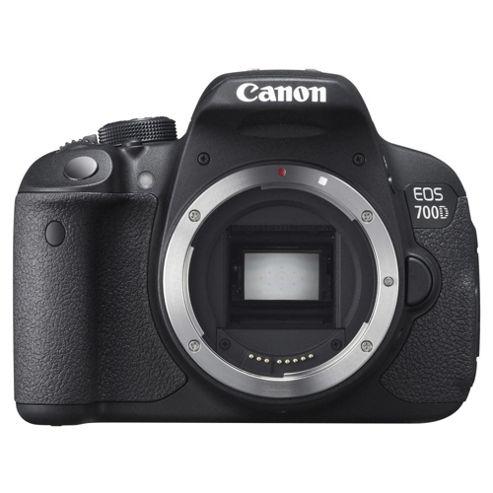 Canon EOS 700D Digital SLR, Black, 18MP, 3