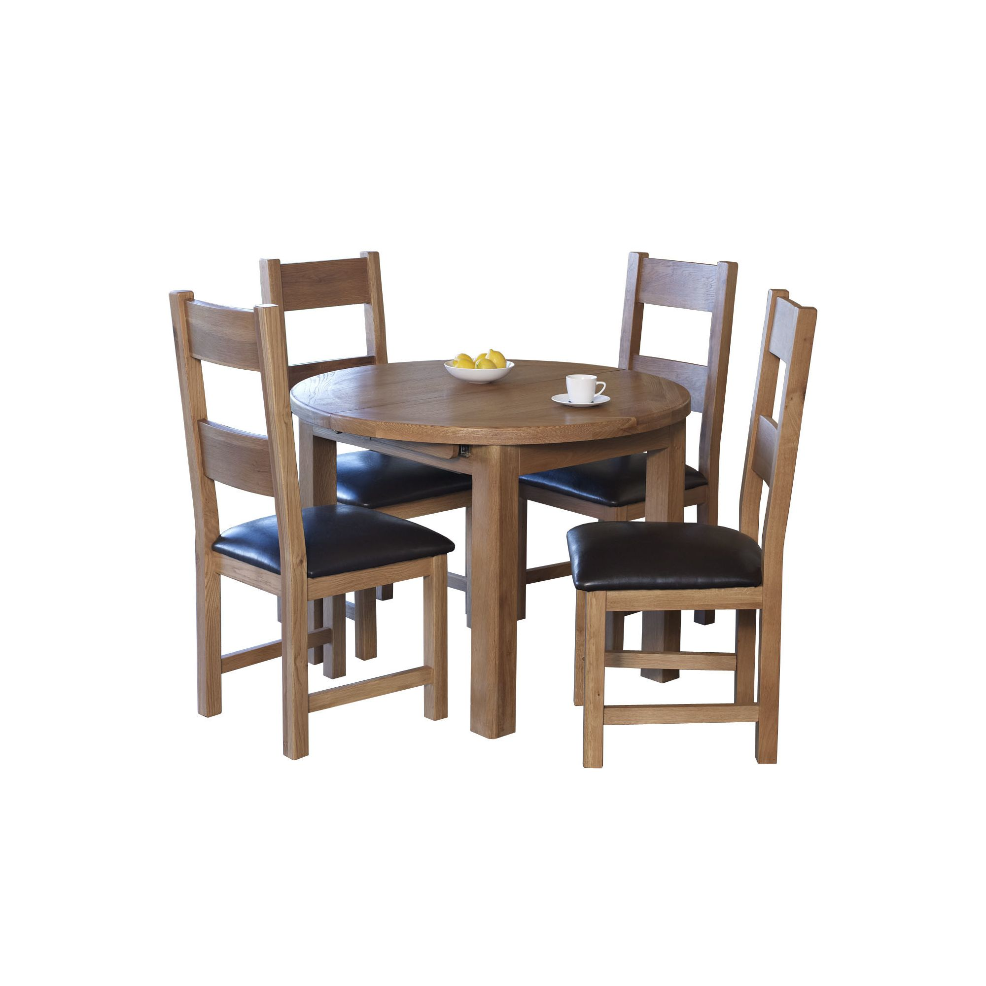 Furniture Link Hampshire 5 Piece Round Dining Collection