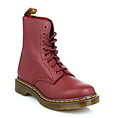 Dr Martens Womens Cherry Red Pascal VirginiaLeather Boots - Red
