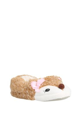 buy f f fox slippers from our gifts for kids range tesco. Black Bedroom Furniture Sets. Home Design Ideas