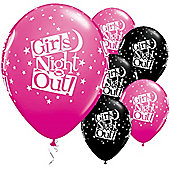11' Girls Night Out Stars (25pk)