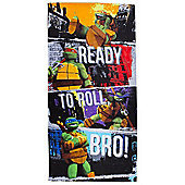 Teenage Mutant Ninja Turtles 'Grunge' Printed Beach Towel
