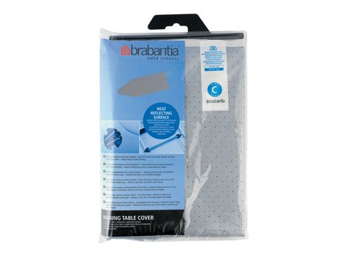 Brabantia 1367.02 I/B Cover Metalised 124X45cm