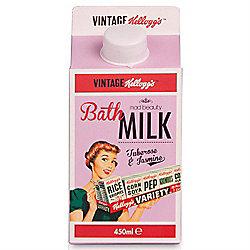 Kellogg's 50's Vintage Tuberose & Jasmine Bath Milk