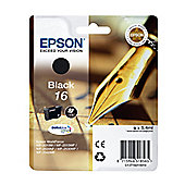 Epson Pen and Crossword 16 (RF/AM) Ink Cartridge (Black) for Epson WorkForce WF-2010DW/WF-2510WF/WF-2520WF/WF-2530WF/WF-2540WF