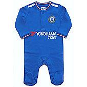 Chelsea Baby Core Kit Sleepsuit - 2015/16 Season - Blue