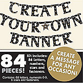 Crafts - Create your Own Banner (84 pieces) - Amscan