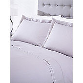 Casa Couture Greenwich Grey Pillowcase Pair In Grey
