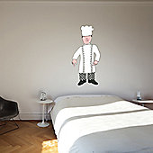 The Binary Box Mr Benn Chef Wall Sticker