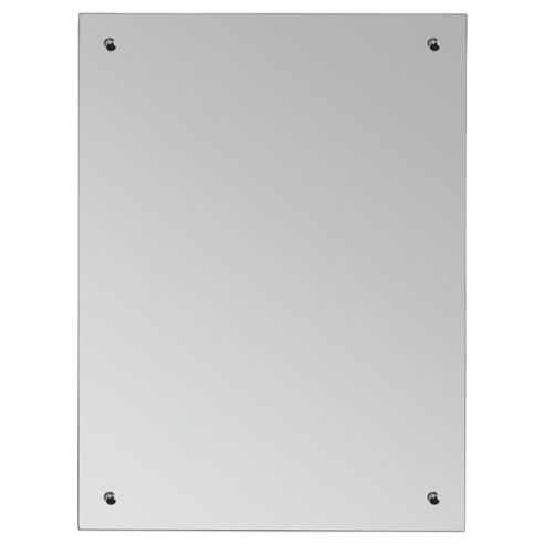 Plain Bathroom Mirror, Large