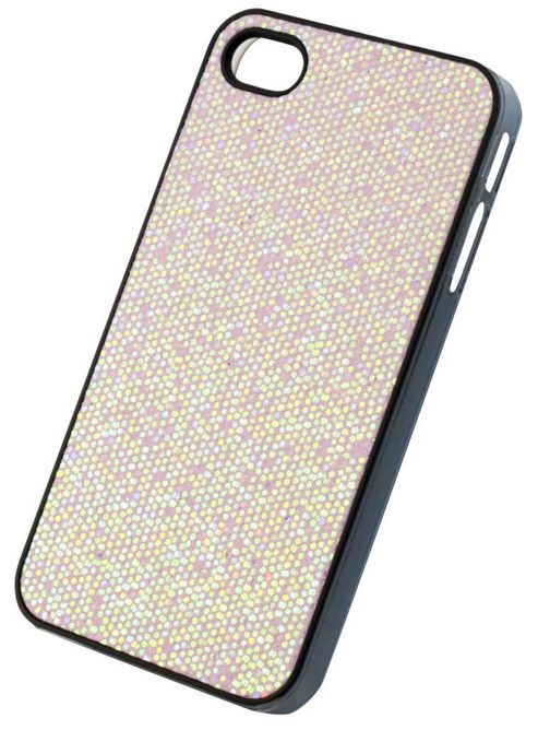 Tortoise™ Hard Case iPhone 4/4S Glitter Pink
