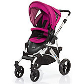 ABC Design Mamba Pushchair - Silver & Grape