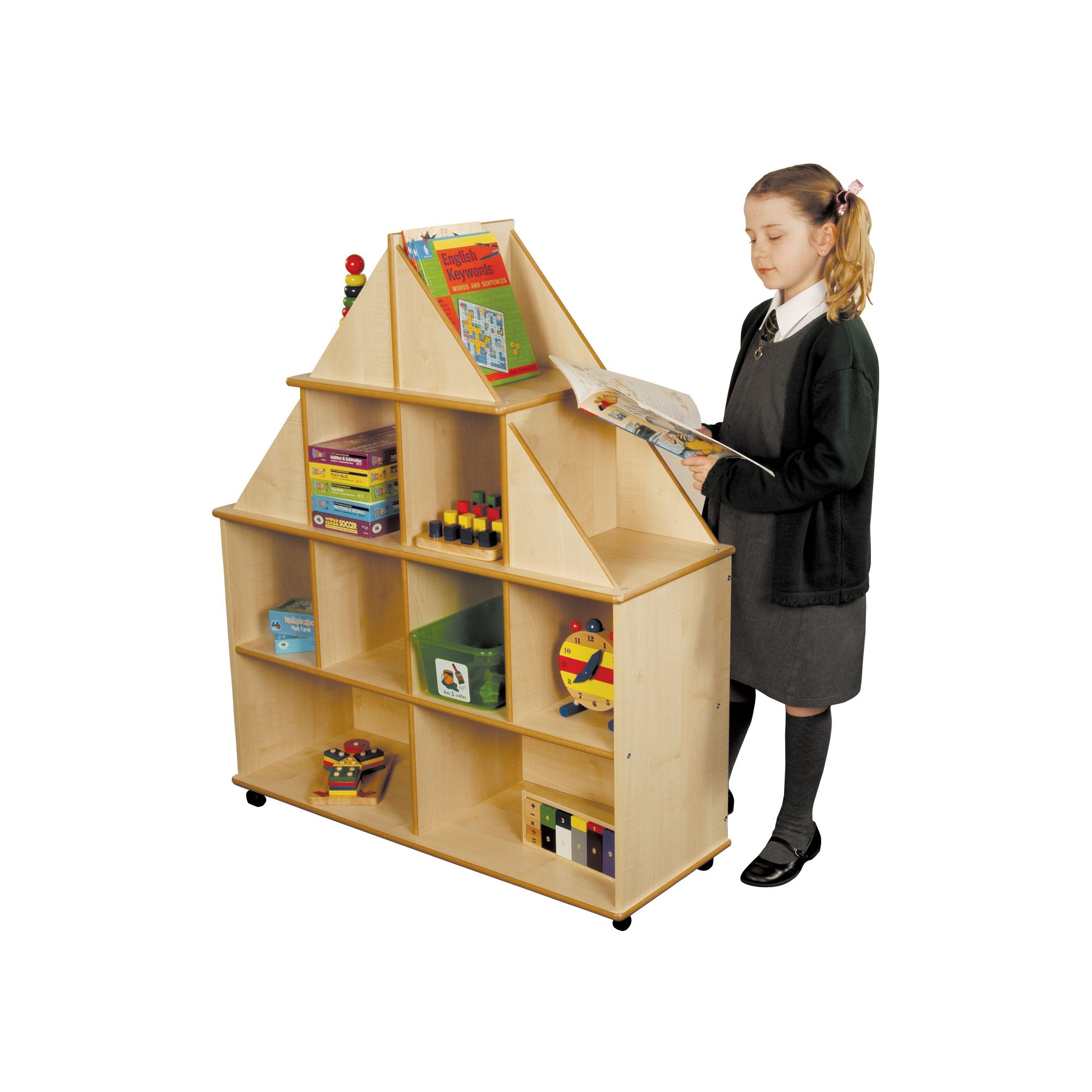 Liberty House Toys Maple Gable End Storage Unit at Tesco Direct