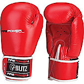 Firepower Boxing Gloves - Red - Red