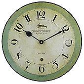 Roger Lascelles Clocks Running Rabbit Wall Clock