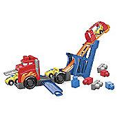 Mega Bloks First Builders - Fast Tracks Racing Rig