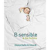 B Sensible Tencel Sheet - Crib - Sky blue