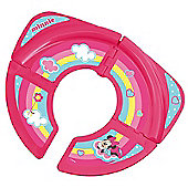 Disney Minnie Mouse Travel Folding Toddler Toilet Training Seat - Pink