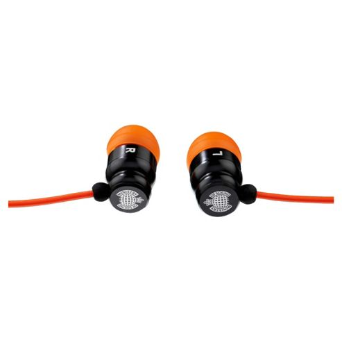 Exspect Ministry of Sound 001 Earphones Black/Orange