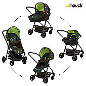 Hauck London All-In-One Travel System, Cross/Grey