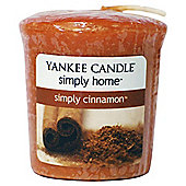 Yankee Candle Simply Cinnamon Votive