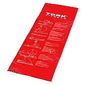 York Fitness Exercise Mat Red