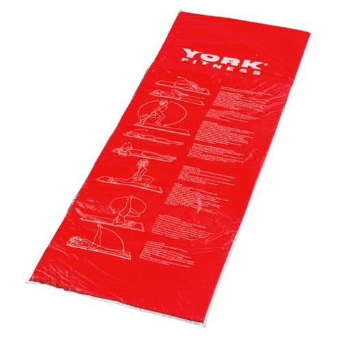 York Exercise Mat Red