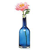 Home Essence Bottle Vase - Blue - Medium
