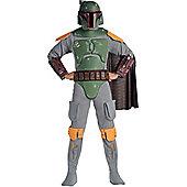 Deluxe Star Wars Boba Fett Costume Extra Large