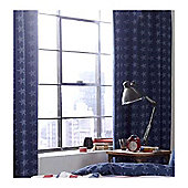 Catherine Lansfield Home Kids Stars And Stripes Curtains Multi 168cm wide x 183cm drop (66x72 inches)