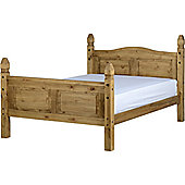 Seconique Corona High Foot End Bed Frame - King (5')