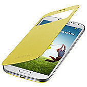 Samsung Original Galaxy S4 S View Cover - Yellow