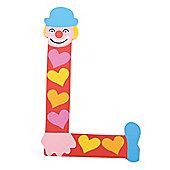 Tatiri Crazy Clown Letter L ((Red) Hearts)