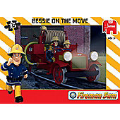 Fireman Sam Jumbo Games Bessie On The Move Jigsaw Puzzle
