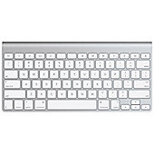 Apple MC184S/B Keyboard - SWEDISH Wireless Connectivity - Bluetooth - Aluminium