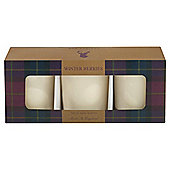 Wax Lyrical Heritage Votives Set of 3