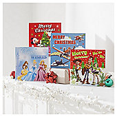 Disney Bumper Christmas Cards, 30 Pack