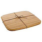 Tesco Bamboo Placemat,  2 Pack