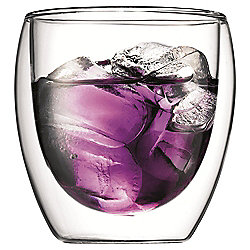 Bodum Pavina 250ml Double Walled Glasses, Set of 2