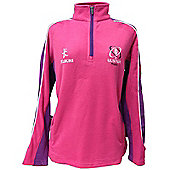 Kukri Ulster Rugby Ladies Mid Layer Fleece 15/16 - Pink