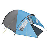 Yellowstone Ascent 4-Man Blue Dome Tent