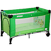 Caretero Simplo Travel Cot (Green)