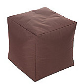 Kaikoo In / Out Cube Chair - Brown