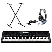 Casio WK-7600 76 Note Keyboard - Free Accessories