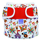 Bambino Mio Miosoft Reusable Nappy Cover - Size 2 (Circus Time)