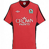 2010-11 Blackburn Away Football Shirt - Red