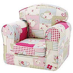 Children's Armchair - Tea For Two