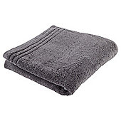 Tesco 100% Egyptian Cotton Hand Towel Charcoal Grey