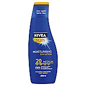 Nivea Sun Protect & Moisture Moisturising Sun Lotion 20 Medium 200ml